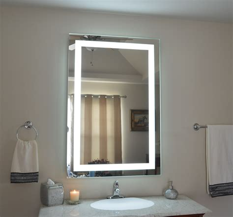 Bright And Modern Lighted Bathroom Vanity Mirror Light Up