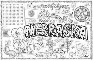 Gallopade International Nebraska Symbols U0026 Facts Funsheet
