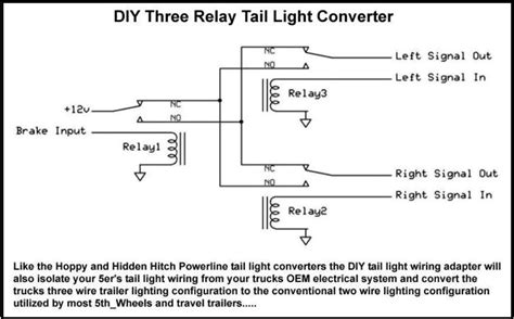Trailer Wiring Converter Diagram by Semi Trailer Light Diagram Pixball