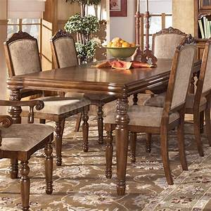 classic ashley furniture dining room sets modern larimer With best brand of paint for kitchen cabinets with pottery barn iron candle holder