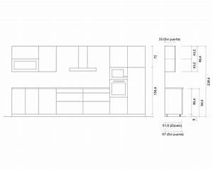 Medidas Estandar De Modulos De Cocina. Affordable Muebles Concebidos ...