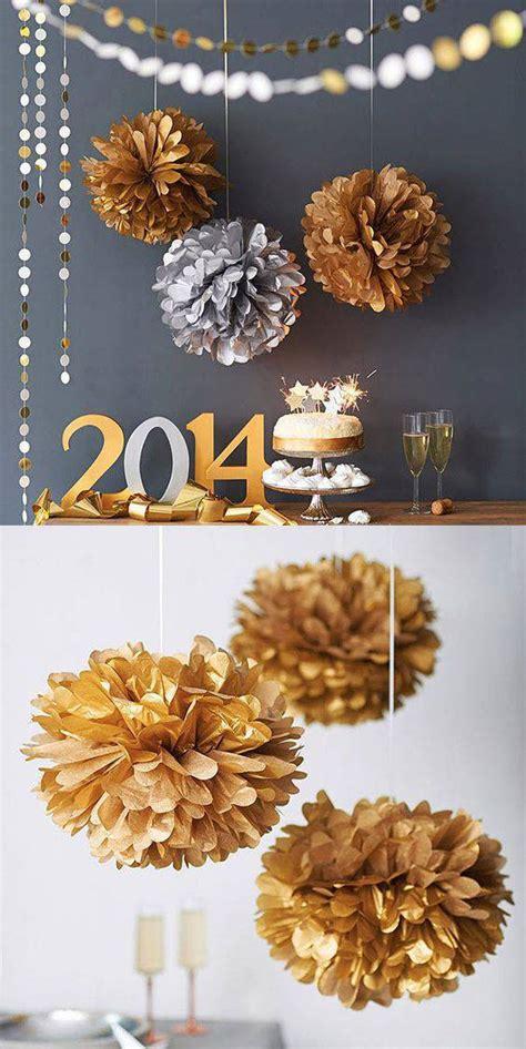 modelos de decoracao de ano novo  fazer em casa