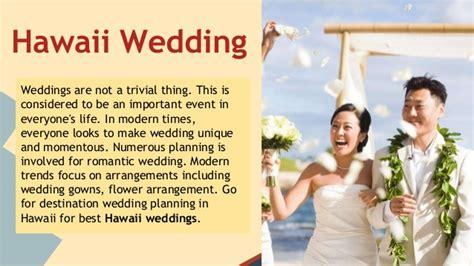 Professional Hawaii Wedding Planners