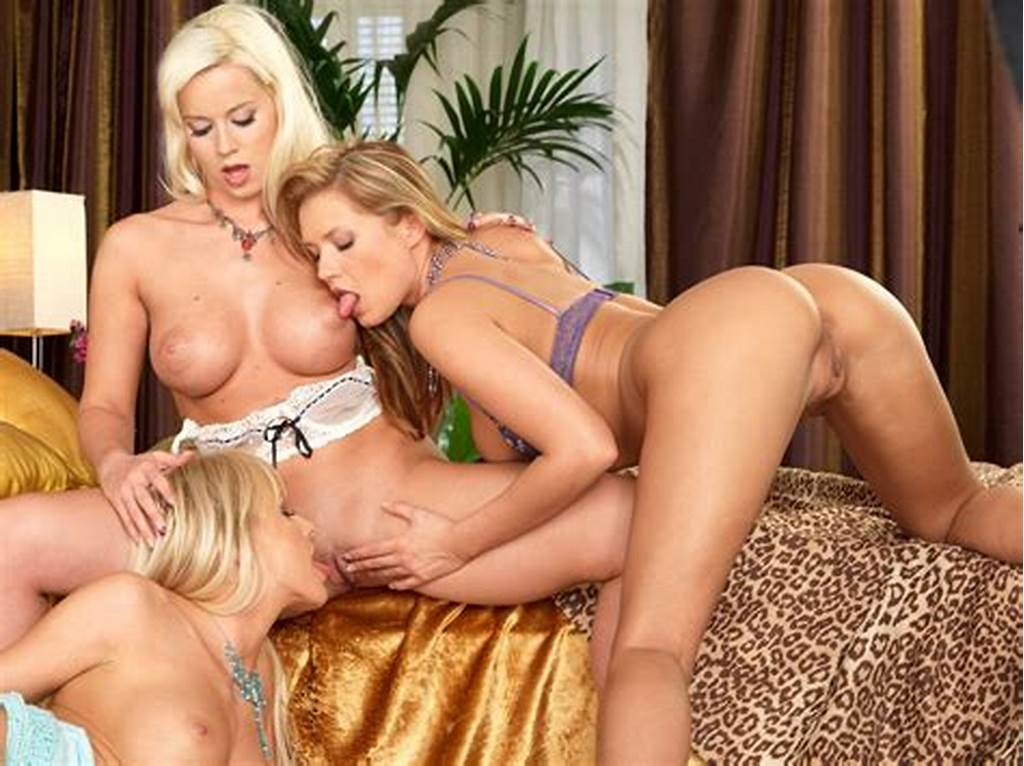 #Three #Hot #Babes #Licking #Each #Others #Sweet #Pussy #Out