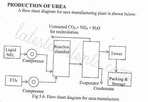 Flow Sheet Diagram For Production Of Urea