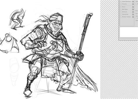 cave character design process