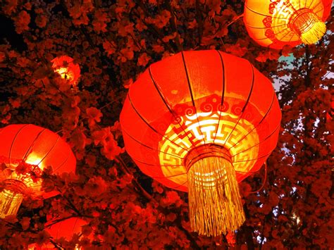 china traditional festival chinese  year lantern preview wallpapercom