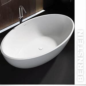 Freistehende Badewanne Mineralguss : bernstein design badewanne freistehende wanne rio mineralguss armatur ebay ~ Sanjose-hotels-ca.com Haus und Dekorationen