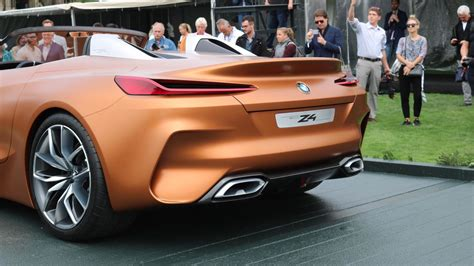 Bmw Z4 Concept Debuts, Suggests Sublime Shape For Future