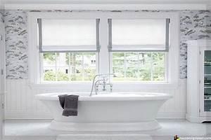 Rideau Fenetre Salle De Bain : quel store ou rideau choisir dans une salle de bains ~ Melissatoandfro.com Idées de Décoration