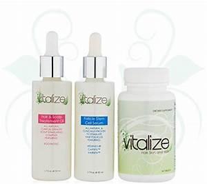 Vitalize Hair 3 Step Hair Repair System With Award