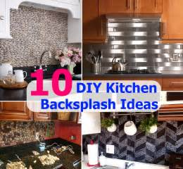 kitchen backsplash ideas diy top 10 diy kitchen backsplash ideas diycozyworld home improvement and garden tips