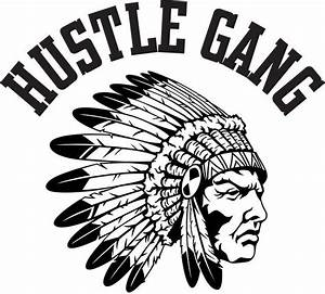 Hustle Gang Indian Logo