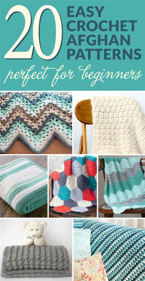 20 Easy Crochet Afghans Perfect For Beginners  Dabbles & Babbles