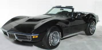 1972 lt1 corvette 1971 chevrolet corvette c3 production statistics and facts