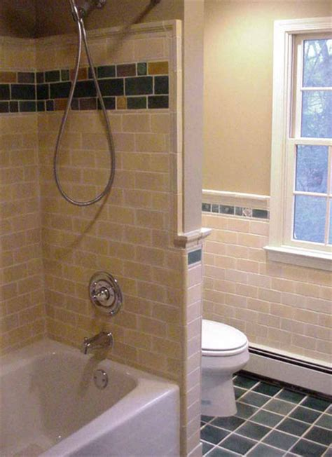 The Gallery For > Craftsman Style Bathroom Tile