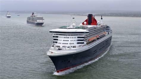 Queen Mary 2, Queen Elizabeth, Queen Victoria Cruise Ships