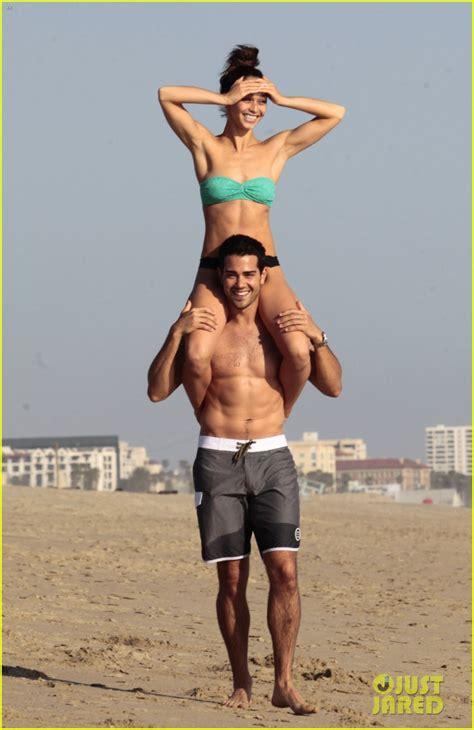Jesse Metcalfe Shirtless Six Pack Beach Stud Photo