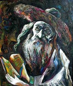 11 best Ari Roussimoff Judaica Jewish Paintings images on ...