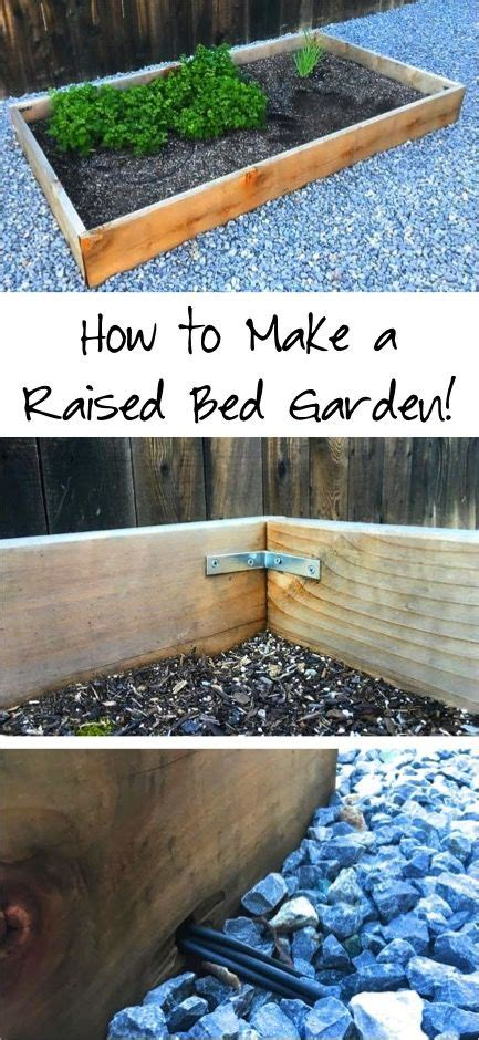 Garden Tutorial by Diy Raised Bed Garden Tutorial Are You In The Mood To Do