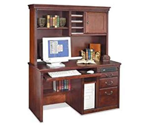 amazon com small office desk with hutch 25 quot d x 56 quot w