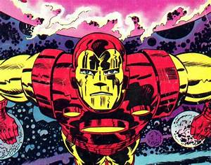 KIRBY DYNAMICS: Iron Man Up Close