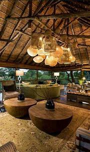 Amazing indoor/outdoor African luxe space. Get the look at ...
