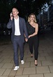 Billie Piper and Laurence Fox arriving late for the ...