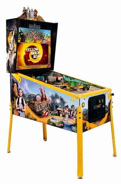 Pinball Wizard Oz Yellow Machine Brick Jersey
