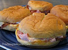 Cooking School Four Ham by Hardees Copy Cat Ham And Cheese Seeded Hamburger Buns