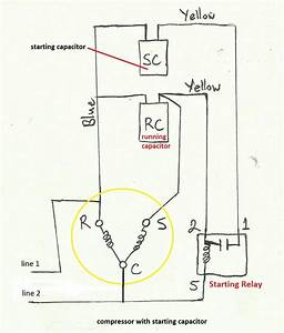 Wiring Diagram For 220v Air Compressor