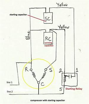 220 Volt Air Conditioner Compressor Wiring Diagram 24632 Getacd Es