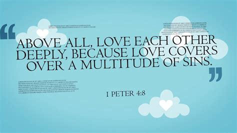 Enjoy these bible quotes about love. Bible Verses About LOVE - YouTube