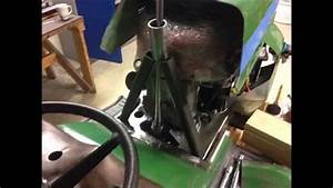 John Deere 210 Racing Mower Build Steering Column Fab