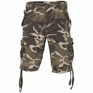 Ringspun Men's Iniesta Shorts - Sage Camo Print Mens ...
