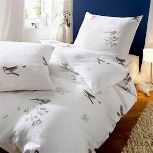 Bettwäsche 155x220 Weiß : kaeppel seersucker bettw sche 155x220 cm dessin lovely 4739 baumwolle v gel wei ~ Yasmunasinghe.com Haus und Dekorationen