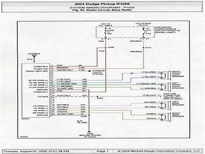 Stereo Wiring Diagram 99 Dodge Ram