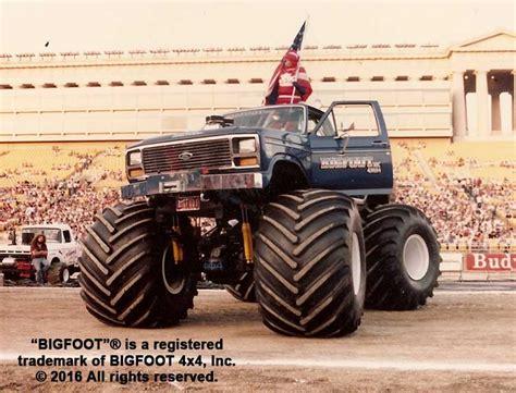 bigfoot monster truck history history of bigfoot bigfoot 4 4 inc monster truck