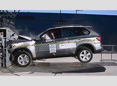 2007~2013 BMW X5 Frontal Crash Test Highspeed Cam