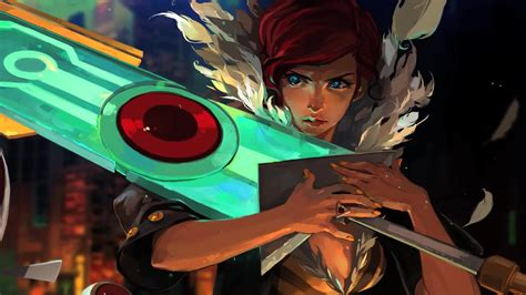 transistor red transistor video games wallpapers hd
