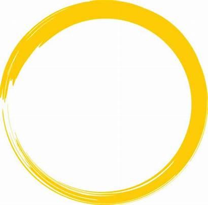 Circle Paint Yellow Round Brush Pixabay Logos