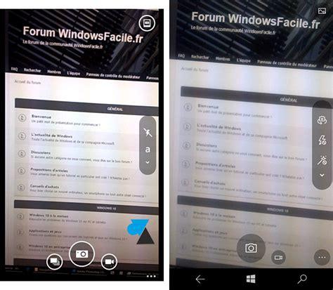 comparatif windows phone 8 et windows 10 mobile windowsfacile fr