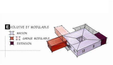 plan de maison plain pied 5 chambres maison ossature bois de plain pied 127 m 3 chambres