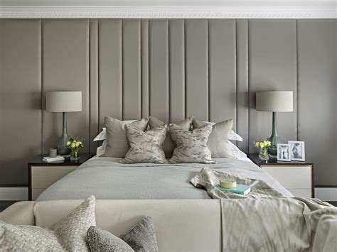 bespoke upholstered wall headboard upholstered panels