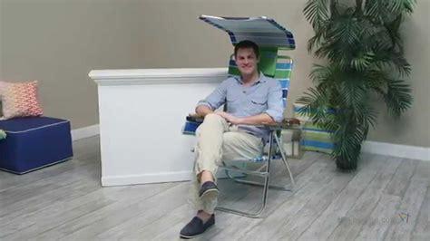 Ultra Hi Boy Chair by Ultra Hi Boy With Canopy Chair Swell Blue