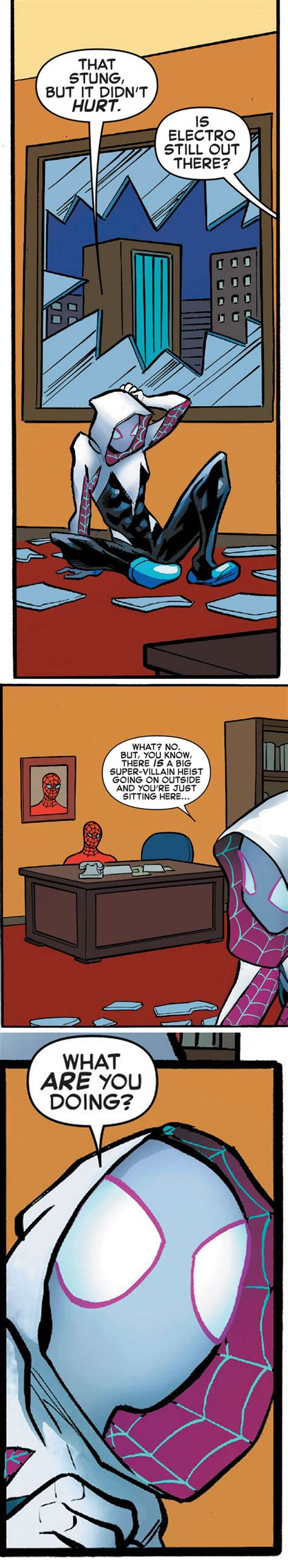 Spiderman Meme Masturbating - marvel used this spider man meme in a comic and i m just sitting here masturbating gewoon