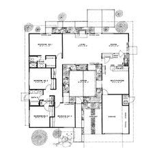 joseph eichler floor plans  images  eichler floor plans  pinterest floor mcm