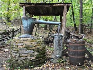 Making Moonshine In The Mountains