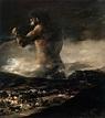 The Colossus by GOYA Y LUCIENTES, Francisco de