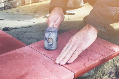 laying slabs for shed how to build a paving slab shed base waltons